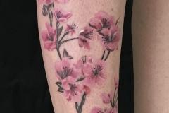 Tatouage branche de cerisier