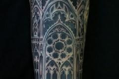 Tatouage cathédrale