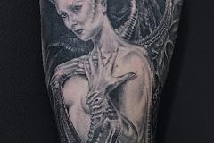 Tatouage demonia bras
