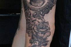 tatouage jambe femme