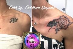 Recouvrement tatouage prénom