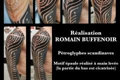 tatouage petroglyphe