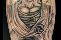 tatouage son goku