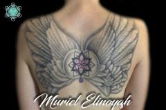 tatouage symboles et ailes