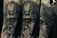 Tatouage predator