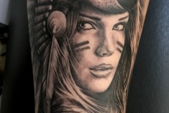tatouage indienne