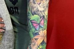 tatouage jungle