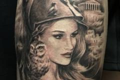 tattoo athena