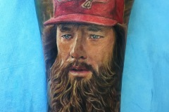 tattoo portrait forrest gump